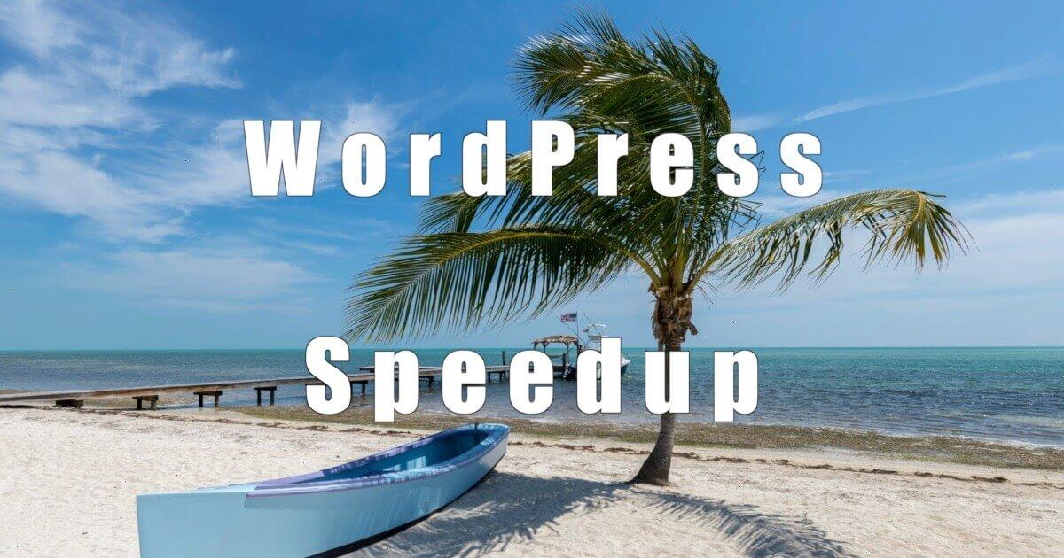 WordPress Speedup